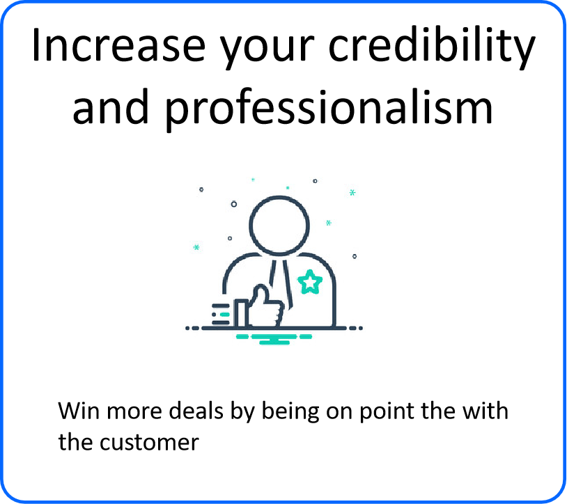 Increase your credibility and professionalism